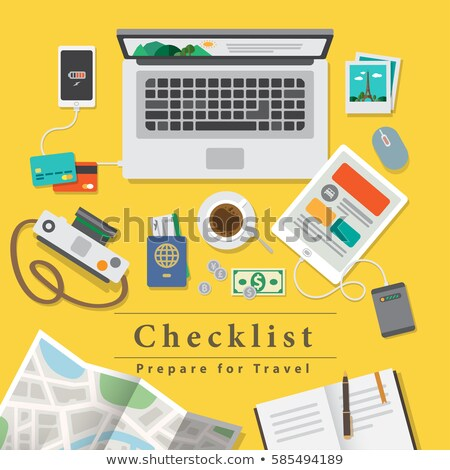 notebook laptop theme Stock photo © vector1st