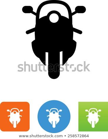 Cruiser motorcycle vector illustration clip-art image Stock photo © vectorworks51
