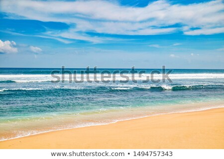 пусто пляж Тропический остров небе природы фон Сток-фото © tish1