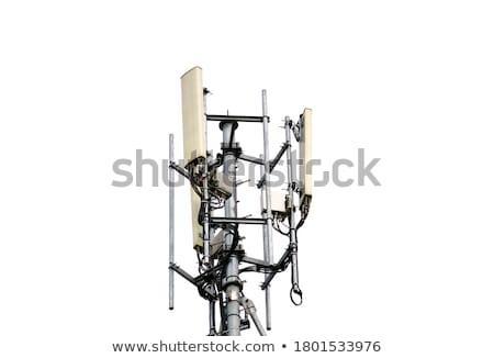 base station antennas tower stock photo © bbbar