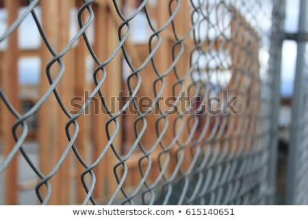 Chain link fencing Stock photo © stevanovicigor