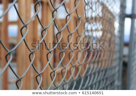 Zdjęcia stock: Chain Link Fencing