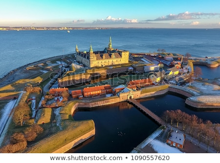 замок путешествия стен ориентир Сток-фото © Estea