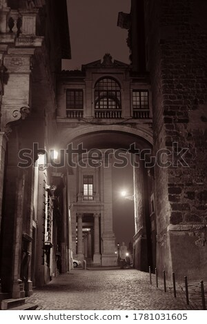 rome city hall at night stock photo © benkrut