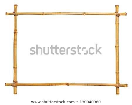 bambusz · fakeret · öreg · fa · háttér · szövet - stock fotó © bluering