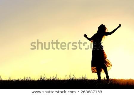 女性 スカート 外 ダンス 旅行 徒歩 ストックフォト © IS2