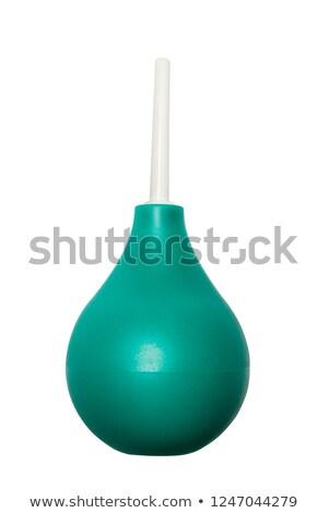 şırınga · küçük · şişe · karanlık · tıp · cam · sıvı - stok fotoğraf © klinker