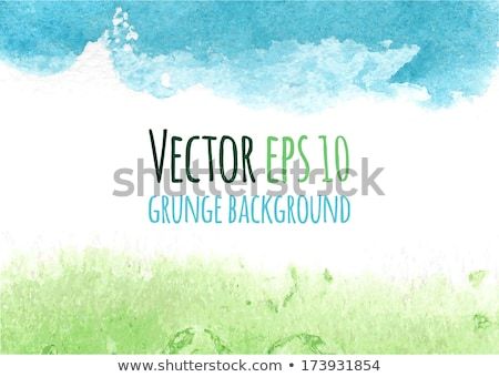 watercolor spring banner stock photo © kostins
