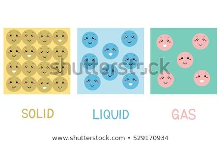 deeltjes · moleculen · klein · virus · abstract - stockfoto © lenm