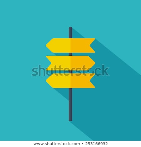 colorful direction board Stock photo © get4net