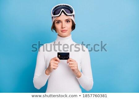 Pelo mujeres establecer dinero éxito Foto stock © toyotoyo