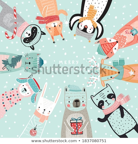 クリスマス カード 猫 バニー キティ ストックフォト © robuart