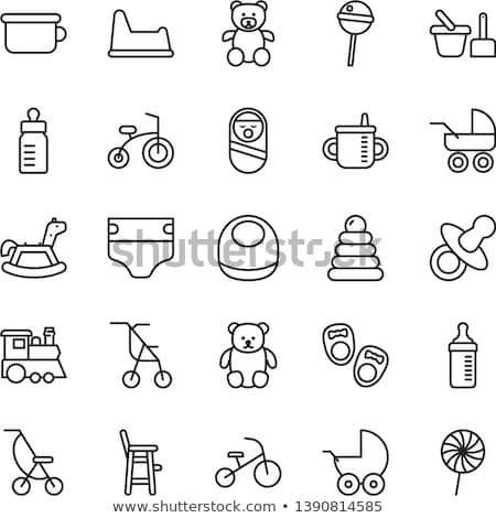Potty icon Stock photo © smoki