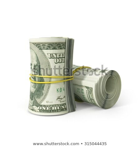 Stok fotoğraf: Dolar · beyaz · yeşil · finanse · banka