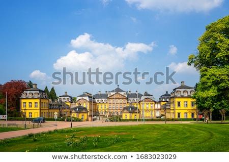 château · Allemagne · très · tôt · principale · bâtiment - photo stock © borisb17