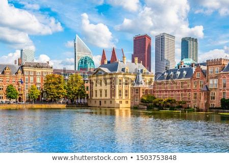 голландский парламент Нидерланды осень служба воды Сток-фото © neirfy