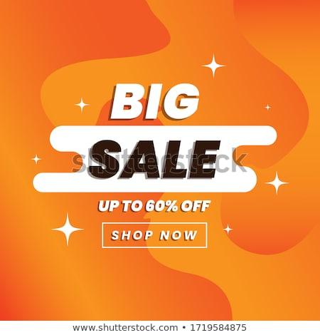 Super Quality Big Sale Poster Vector Illustration Stock photo © robuart