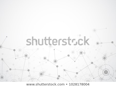 Stock photo: digital technology background with lines mesh