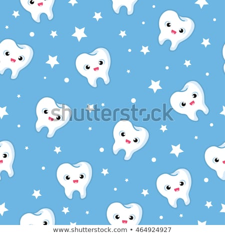 Stock photo: Stomatology Seamless Pattern Vector