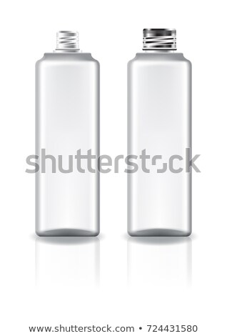 Schroef glas flessen metaal donkere Stockfoto © lichtmeister