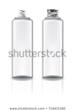 screw caps on glass bottles stock photo © lichtmeister