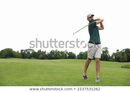 Outdoor Activity, Men Playing Golf with Putters Stock photo © robuart