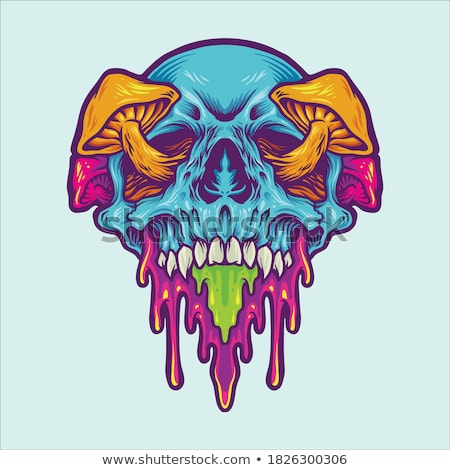 halloween · monster · poster · vector · eps · 10 - stockfoto © rwgusev