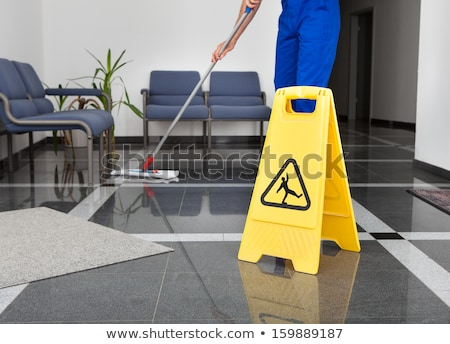 Close-up Of A Cleaning Mop Symbol Stock photo © AndreyPopov