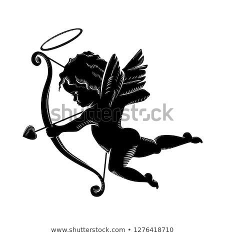 Cupid Shooting Stock photo © Dazdraperma