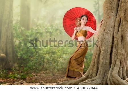 Asian Model Woman-Thai Ethnicity Beauty Stock photo © posterize