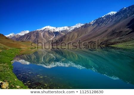 Vale Índia nuvens montanhas céu montanha Foto stock © dmitry_rukhlenko