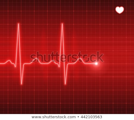 Abstract ECG Stock photo © dvarg