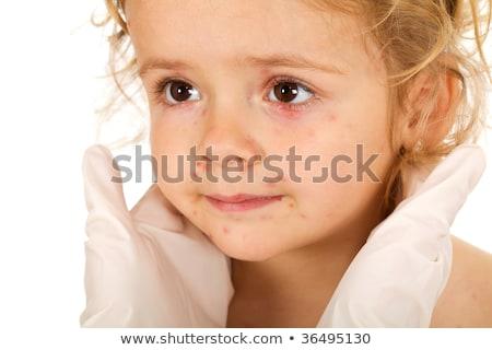 девочку небольшой врачи изолированный здравоохранения Сток-фото © lightkeeper