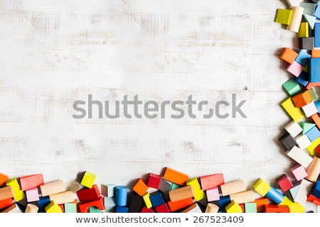 color blocks   meccano toy stock photo © mikko
