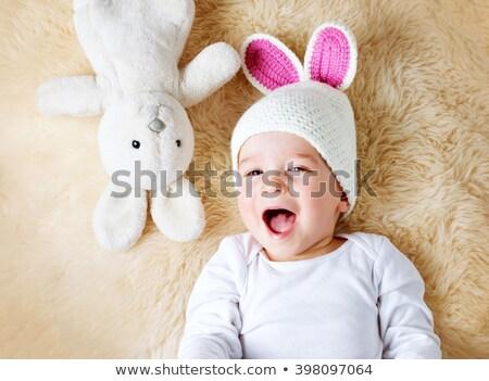 coelho · coelhos · família · doce · casa · primavera - foto stock © photography33