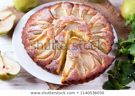 pear cake stock photo © M-studio