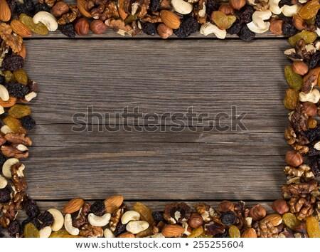 Frame made of a sacking Stock photo © pzaxe