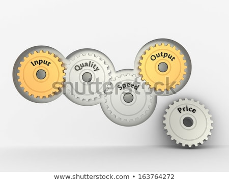 Relationship between time, quality and price Stock photo © a2bb5s