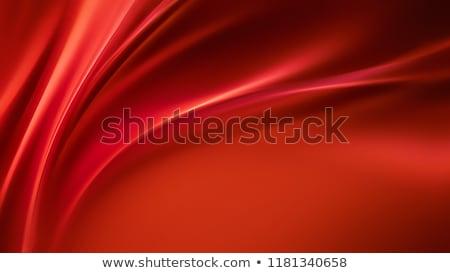 golvend · zijde · abstract · vector · witte · satijn - stockfoto © robertosch