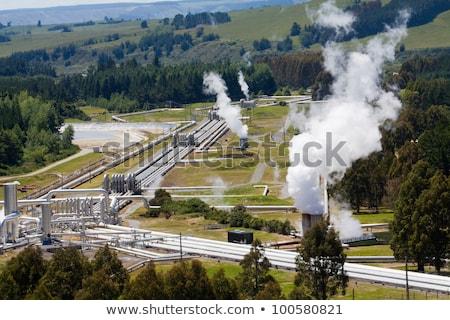 Geothermal power station  Stock photo © Hofmeester