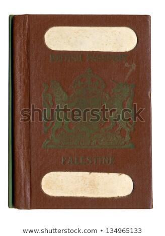 изолированный Vintage израильский паспорта белый бумаги Сток-фото © eldadcarin