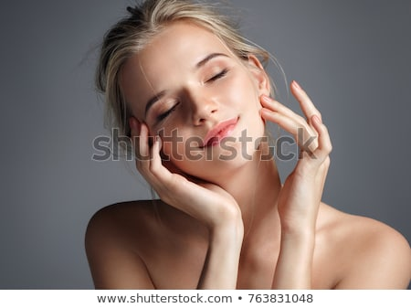 Sensuous woman with eyes closed Stock photo © wavebreak_media