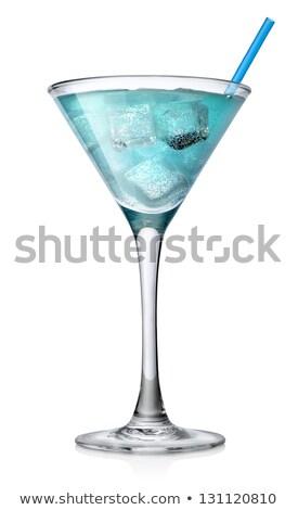 коктейль · стекла · синий · алкоголя · белый - Сток-фото © wavebreak_media