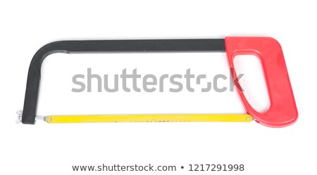 Hacksaw isolated on the white. Stock photo © luckyraccoon