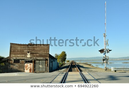 Abandoned Building in Alviso, California Stock photo © wolterk