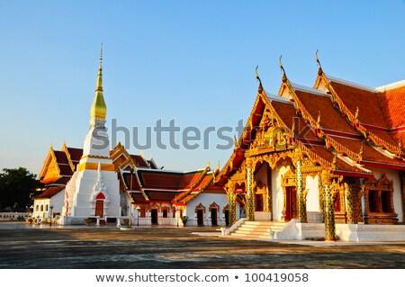 ünlü saray Bangkok ev mavi mimari Stok fotoğraf © meinzahn