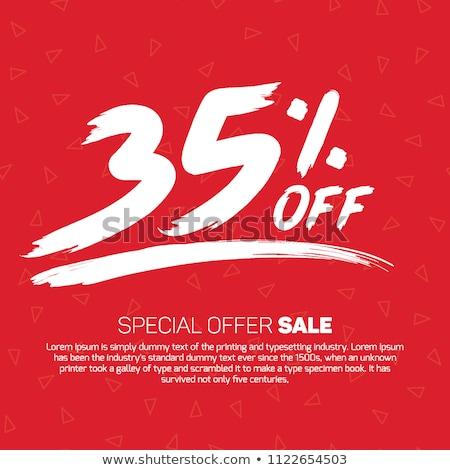 35 percent discount stock photo © kbuntu