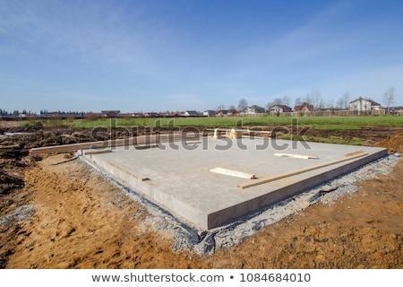 素材 · 建設現場 · 家 · 壁 · 作業 - ストックフォト © meinzahn