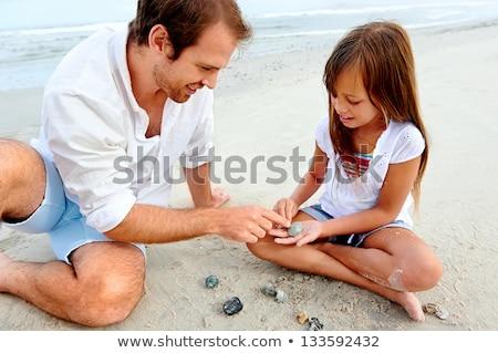 家族 · 海藻 · 男 · 自然 · 海 · 楽しい - ストックフォト © monkey_business