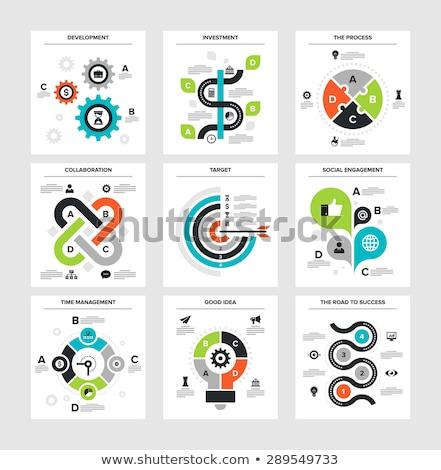 良い ビジネス 計画 図 成功した デザイン ストックフォト © orson